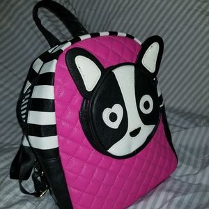 Betsey Johnson backpack, new with tags.
